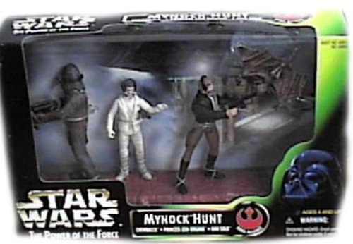 Buy Low Price Kenner Star Wars – 1998 – Kenner – Power of the Force – Mynock Hunt Set – Rebel Alliance – w/ 3 Figures – Rare – New – Limited Edition – Collectible (B000AY7AEA)