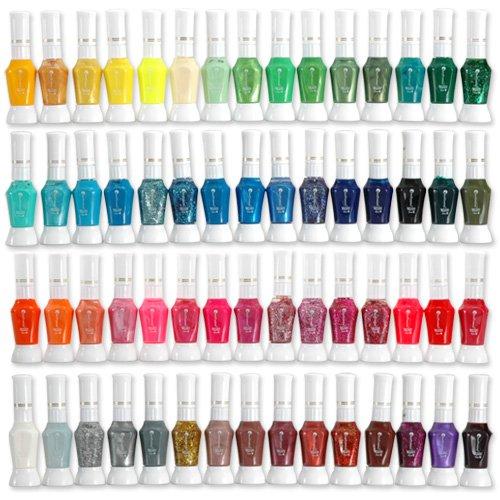 Test reviews avis lot 60x vernis a ongles decor 2 for Lot vernis nail art pas cher