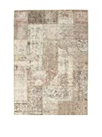 Design Community By Loomier Alfombra Revive Vintage Patch (Gris)
