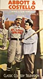 img - for Abbott & Costello: Vol. 1: Who's On First VHS Tape book / textbook / text book
