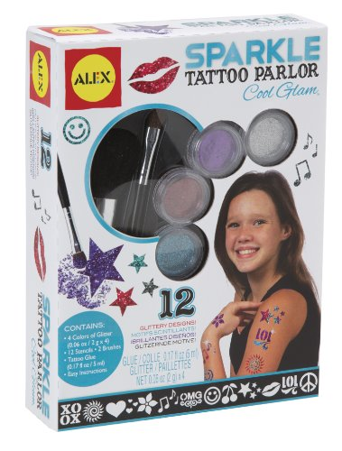 ALEX Toys Spa Sparkle Tattoo Parlor Cool Glam