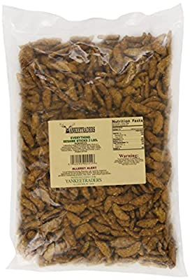 Yankee Traders Everything Sesame Sticks, 2 Pound from Yankee Traders