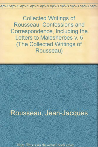 rousseau confession essay Compare/contrast rousseau (confessions) to tartuffe (molière) jean-baptiste poquelin more commonly known by his stage name of molière was a french playwright and actor in the 17th century who is considered one of the finest writers of comedy in western literature - compare/contrast rousseau (confessions) to tartuffe (molière.