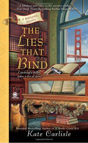 Image of The Lies That Bind: A Bibliophile Mystery