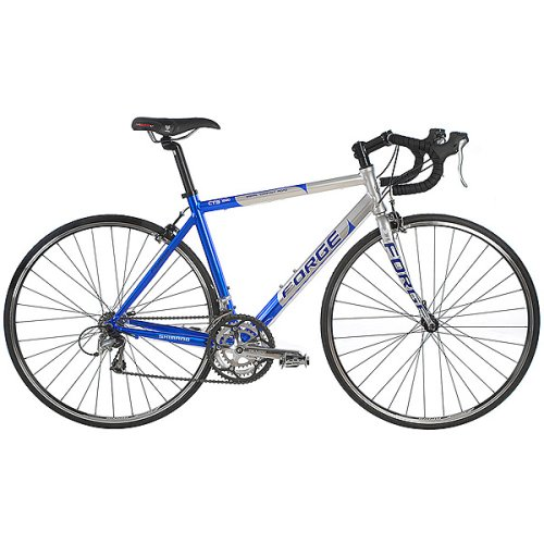 Forge CTS 1000 Road Racing Bike - Graphite Blue (19