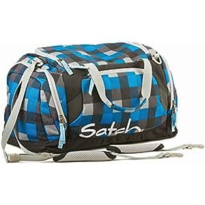 Satch by Ergobag Sporttasche Airtwist - karo blau schwarz 03 airtwist