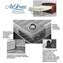 Hot Sale Queen Air Dream Sleeper Sofa Replacement Mattress