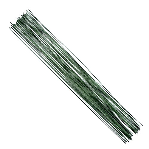 Decora 18 Gauge Dark Green Floral Wire 16 inch,50/Package (Floral Wire compare prices)