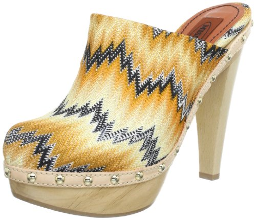 Missoni ZOCCOLO TESSUTO BASICO T.110 Sandals Womens multi-coloured YELLOW Size: 7 (41 EU)