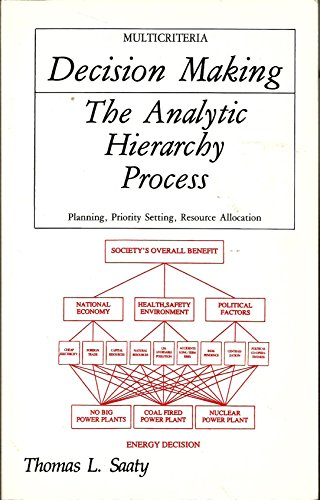 The Analytic Hierarchy Process: Planning, Priority Setting, Resource Allocation (Decision Making Series)