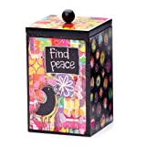 Demdaco Colorful Devotions Find Peace Blessing Box