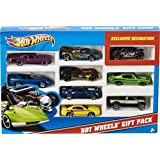 Mattel Hot Wheels 9-Car Gift Pack (Styles May Vary) by TY-P2C