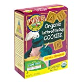 Earth's Best Organic Sesame Street Letter of the Day Cookies, Oatmeal Cinnamon, 5.3-Ounce Boxes (Pack of 6)