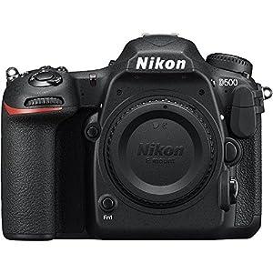 Nikon D500 20.9 MP CMOS DX Format Digital SLR Camera with 4K Video