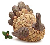 Thanksgiving Turkey Figurine With Driftwood Look Great Holiday Centerpiece