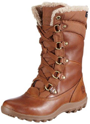 Timberland Women's Premium 14in Wp B Hohe Stiefel Braun