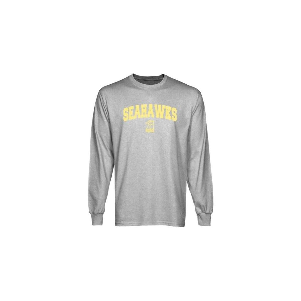 86c7060d3 UNC Wilmington Seahawks T Shirts UNC Wilmington Seahawks Ash Logo on ...