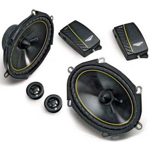 Kicker 07DS6802 6-Inch X 8-Inch Component System with 20mm Tweeter (Pair)