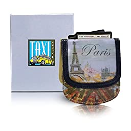 Taxi Wallet Women\'s PARIS VEGAN Small Compact Card Coin Wallet