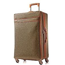 Hartmann Tweed Belting Mobile Traveler Expandable Spinner 30