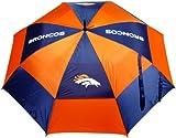 NFL Denver Broncos 62-Inch Double Canopy Umbrella