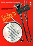 img - for Music Minus One Trombone: Sticks' N Bones: Brass Quintets- CD included book / textbook / text book