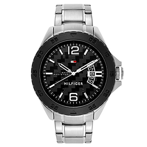 Tommy-Hilfiger-Mens-1791206-Casual-Stainless-Steel-Bracelet-Watch
