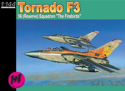 Tornado F3 56 (Reserve) Squadron The Firebirds (2 Kits) 1-144 Dragon - 1