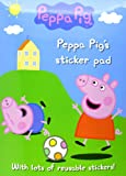Peppa Pig's Sticker Pad