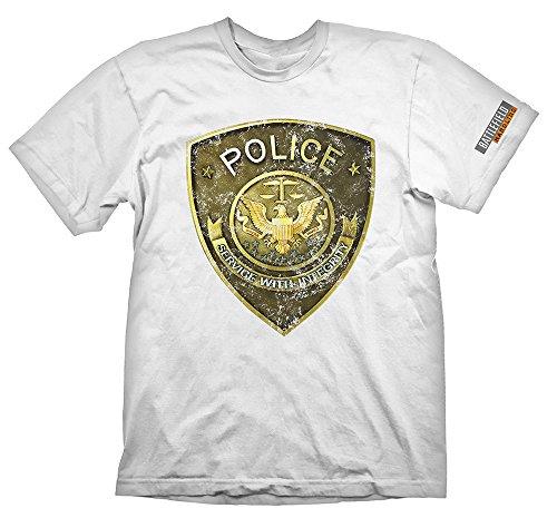 Battlefield Hardline Maglietta Maglia T Shirt Police Size XL Gaya Entertainment
