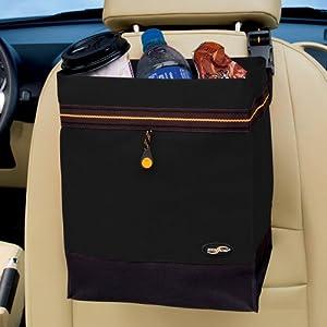 High Road Hanging Car Litter Bag - Black