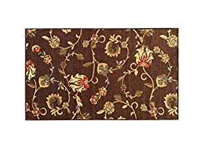 Amazon Com Rubber Backed Mat 18 Quot X 32 Quot Chocolate Brown