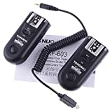 Yongnuo RF-603 N3 Wireless Flash Radio Trigger Transceiver 2.4GHz Nikon N3 For Nikon DSLR SB-24 SB-28 SB-900 SB-800 D90 D5000 D5100 D7000(Not Compatible with SB600)