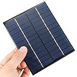 CAMTOA® 2W 12V 520mA Panneau solaire petit module cellule PV pour kits de bricolage solaires chargeur...
