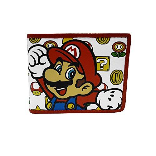 Super Mario Portamonete MW160886NTN Bianco