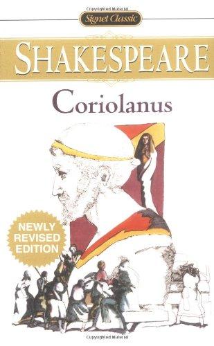 Coriolanus (Book) written by William Shakespeare
