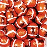 Footballs Solid Milk Chocolate - (1 Lb - Approx. 63 Pcs)