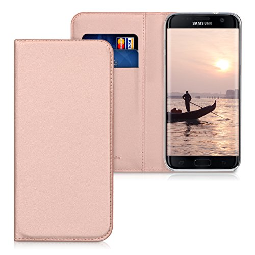 kwmobile-flip-cover-pour-samsung-galaxy-s7-edge-en-dore-rose-avec-revetement-en-cuir-synthetique-et-