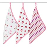aden + anais Classic Washcloth, Princess Posie, 3 Pack Color: Princess Posie, Model: 3051, Newborn & Baby Supply