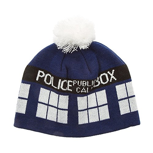 Icing Womens Doctor Who Tardis Beanie Hat by Icing