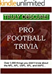 Truly Obscure!  Pro Football Trivia:...