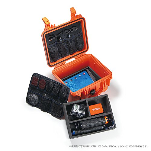 PELICAN 1300 GoPro SPECIAL オレンジ 1300-GPS-150
