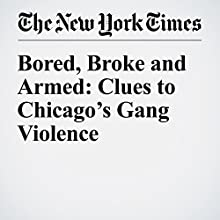 Bored, Broke and Armed: Clues to Chicago's Gang Violence Other by John Eligon Narrated by Caroline Miller