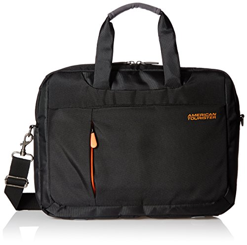 American tourister activair polyester 13 ltrs black laptopp bag 56t 0 09 008 2714 rs mrp - American tourister office bags ...