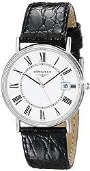 Longines Men's L47204112 Presence Collection Watch