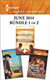 img - for Harlequin Superromance June 2014 - Bundle 1 of 2: Small-Town Redemption\All for a Cowboy\Once a Family book / textbook / text book