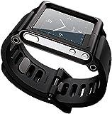 Dingtool LunaTik Watch Band ipod nano6 Replacement with Wrist Strap Aluminum Strap Wrist Band for iPod Nano6 Generation