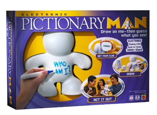 Electronic Pictionary Man Game