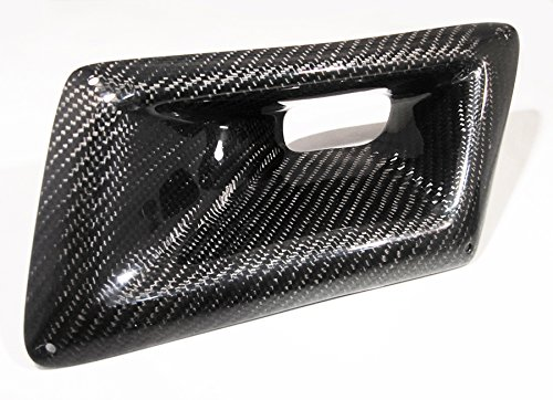 Carbon Fiber Front Bumper Intake Hole Air Duct Cover For Nissan 2003-2009 350Z Z33-Left Side Only (04 350z Intake compare prices)