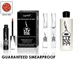 LIP INK Organic Vegan 100% Smearproof Lip Stain Kit - Henna Red
